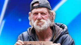 Download Homeless Man Goes On America's Got Talent - His Life Will Never Be The Same Video