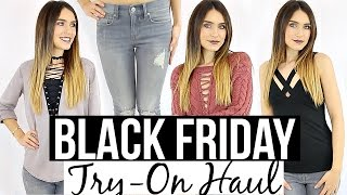 Download BLACK FRIDAY TRY-ON CLOTHING HAUL 2016 | Shea Whitney Video
