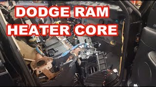 Download 2004 Dodge Ram 1500 HEATER CORE REPLACEMENT 2003-2005? replacing overview how to evaporator Video
