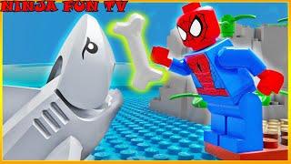 Download Lego Spider Man - Baby Shark Training Video