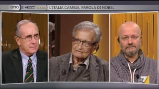 Download Otto e mezzo - L'Italia cambia, parola di Nobel (Puntata 14/01/2017) Video