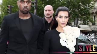 Download Kim Kardashian & Kanye Do High Fashion at Couture Week! Video