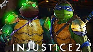 Download Injustice 2 Online - 500 DAMAGE NINJA TURTLES COMBO! Video