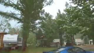 Download Down burst or Tornado near Eganville, Ontario, Canada. Video