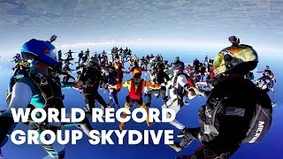 Download World Record Group Skydive: 164-Person Formation Video