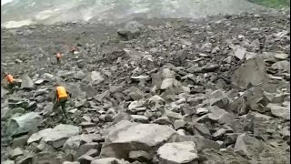 Download More than 100 missing after landslide in China Video