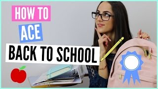 Download 5 WAYS TO ACE GOING BACK TO SCHOOL | Back To School 2016 Video