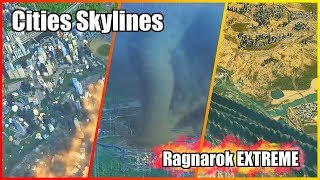 Download LEVEL 500 DISASTERS [RAGNAROK EXTREME MOD & DOWNLOAD] | Cities Skylines Video