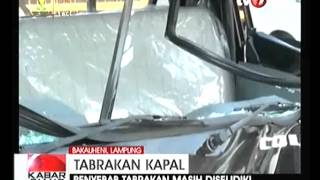 Download Tabrakan Kapal Roro Dgn Kapal Cargo Di Selat Sunda Video