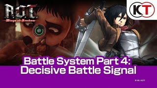 Download A.O.T. WINGS OF FREEDOM - PART 4: DECISIVE BATTLE SIGNAL Video
