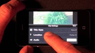 Download iMovie on iPhone 4: Tutorial & Demo Video