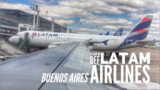 Download Take off LATAM A320. #4112. Aeroparque Jorge Newbery. Video