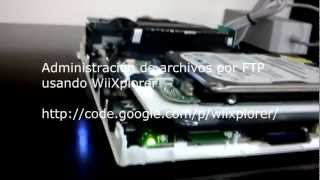 Download Hack Nintendo Wii - Internal SATA HDD Video
