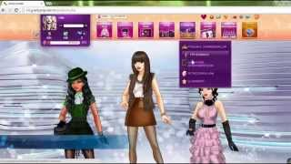Download Lady Popular Fashion Arena Video