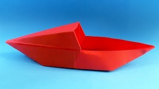 Download How to make a paper boat. Origami boat Video