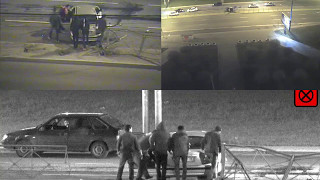 Download CCTV Mobotix M16 Night Moonlight Sensor Numberplate Recognition Demo Video
