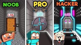 Download Minecraft - SECRET LABORATORY! (NOOB vs PRO vs HACKER) Video