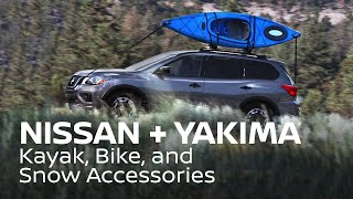 Download Nissan Accessories and Yakima Kayak, Bike, and Snow Accessories Overview Video