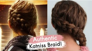 Download Authentic Katniss Braid | Hunger Games Special Guest | Cute Girls Hairstyles Video