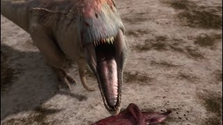 Download Mapusaurus gang Vs. Argentinosaurus | Planet Dinosaur | BBC Video