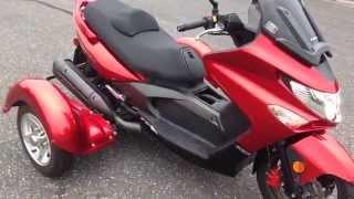 Download 2011 Kymco Xciting 500r w/ Trike Kit - Walk Around Video