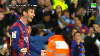 Download Lionel Messi ● 70 Amazing Goals in La Liga - Out of All 400 ● With Commentaries Video