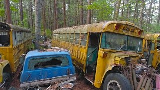 Download ABANDONED CAR GRAVEYARD (Over 20,000 Cars) Video