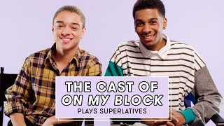 Download The Cast of Netflix's On My Block Reveals Who's Most Likely to Share a Spoiler and More Video