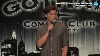 Download Gotham Comedy Minute: Colin Jost ″Doesn't Christian Mingle, Just Sound Filthy?″ Video