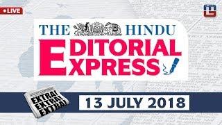 Download The Hindu Editorial Express at 9 am   13 July   UPSC, RRB, SBI, IBPS, SSC Video