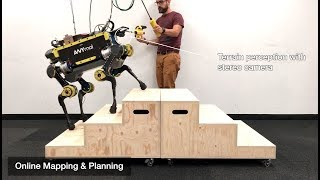 Download Robust Rough-Terrain Locomotion with a Quadrupedal Robot (ANYmal) Video