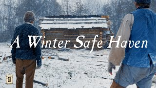 Download Chimney & Fireplace Before Snowfall? - Townsends Homestead Part 3 Video