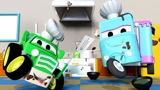 Download The Bake Sale ! with the Baby Cars in Car City ! - Cartoon for kids The BAKE Sale Video