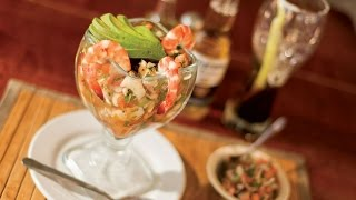 Download Ceviche de camarón y palmito, fácil de preparar Video