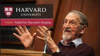 Download Martin Karplus discusses winning the Nobel Prize in Chemistry Video