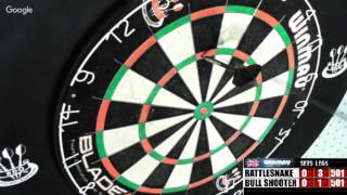 Download Rattlesnake vs bull shooter -WDA Darts Video