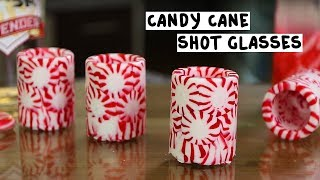 Download Peppermint Shot Glasses with Candy Cane Vodka Video