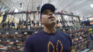 Download Buying my first baitcaster vlog Lew's Mach 1 speed spool Video