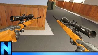 Download AKIMBO SNIPER RIFLES IN VR COUNTER STRIKE Video