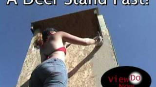 Download A Minnesota Deer Stand Built Fast! Video