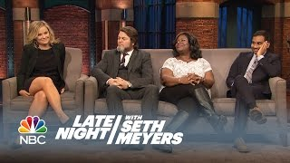 Download The Parks and Recreation Cast Answers Fan Questions - Late Night with Seth Meyers Video