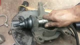 Download Ball Joint Replacement - 2003 - 2007 Honda Accord (04 - 08 Acura TSX, TL) Video