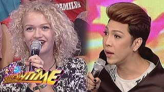 Download It's Showtime: Vice Ganda talks to a German lady Video