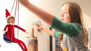 Download Elf on the Shelf Candy Cane Hunt 12 Hidden Candycanes Day 6 Video