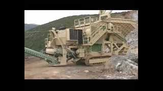 Download REV LARGEST MOBILE CRUSHER GCS 140B FOR QUARRIES AND MINES IN GERMANY - GRANDE FRANTOIO REV Video