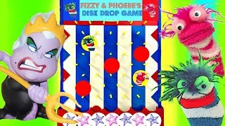 Download Disney Princesses Play the Fizzy and Phoebe Disk Drop Game Video