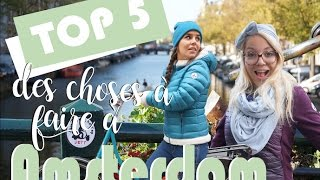 Download TOP 5 des choses à faire à Amsterdam - Hollande ! Video
