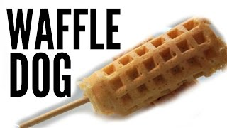 Download WAFFLE HOT DOG Recipe - Weenies Video