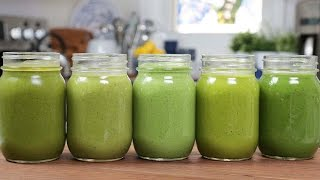 Download 5 Green Smoothie Recipes Video