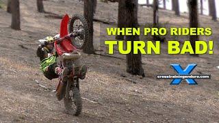 Download WHEN TOP ENDURO RIDERS TURN BAD! Cross Training Enduro Video